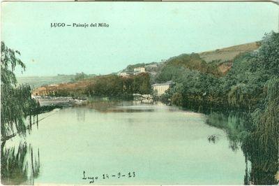 Lugo. Paisaje del Miño