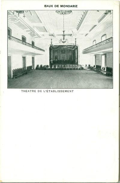 [Mondariz-Balneario]. Eaux de Mondariz. Theatre de L'établissement