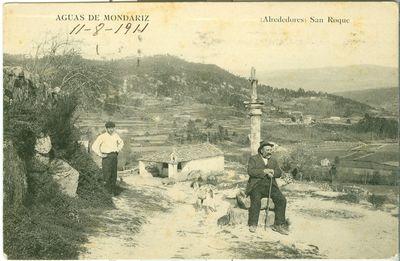 [Mondariz-Balneario]. Aguas de Mondariz. (Alrededores). San Roque