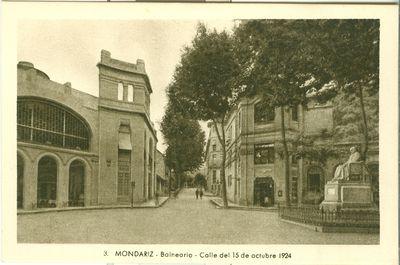 Mondariz-Balneario. Calle del 15 de octubre 1924