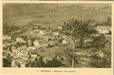Mondariz-Balneario. Vista general