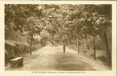 Mondariz-Balneario. Paseo a la orilla del Río Tea