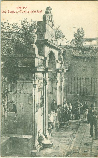 Orense. Los Burgos. Fuente principal