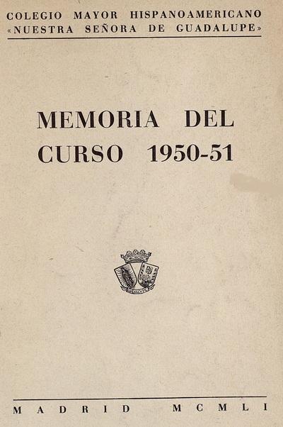 Memoria del curso ...