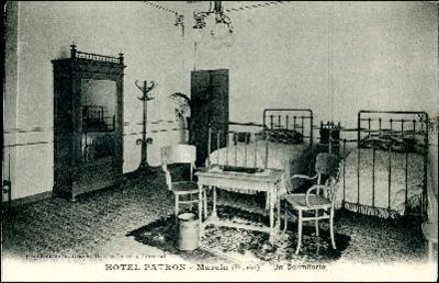 Hotel Patrón, Murcia (España) [Material gráfico] . Un dormitorio