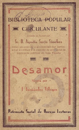 Desamor : novela original / Francisco Fernández Villegas (Zeda).