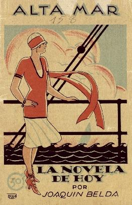Alta mar : novela / por Joaquín Belda ; ilustraciones de Puig.