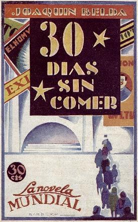 Treinta días sin comer [Texto impreso] : novela / Joaquín Belda ; ilustraciones de Barbero.