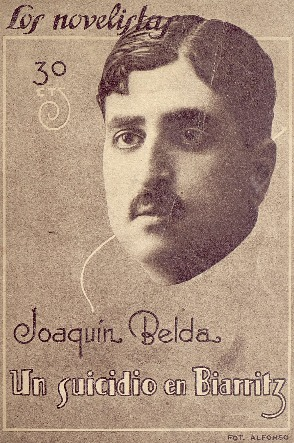 Un suicidio en Biarritz [Texto impreso] : novela / Joaquín Belda ; ilustraciones de Loygorri.