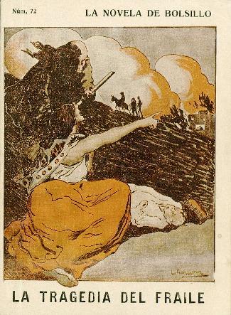 La tragedia del fraile [Texto impreso] / por Tomás de A. Arderíus ; dibujos de L. Aguirre.