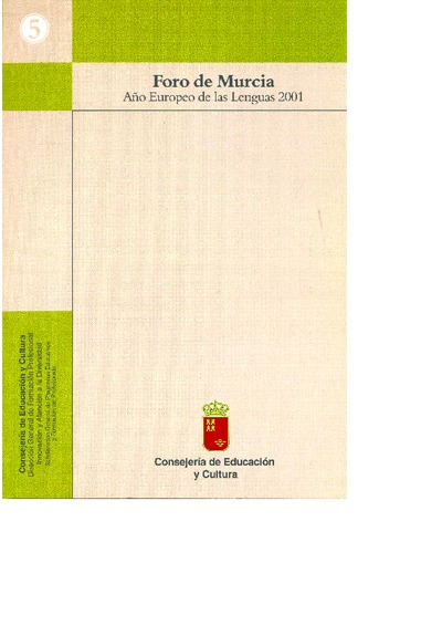 Año Europeo de las Lenguas 2001