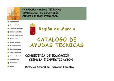 Catálogo de Ayudas Técnicas [Recurso electrónico]