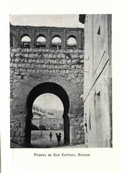 Puerta de San Esteban, Burgos [Material gráfico]