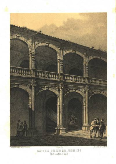 Patio del Colegio del Arzobispo (Salamanca) [Material gráfico]