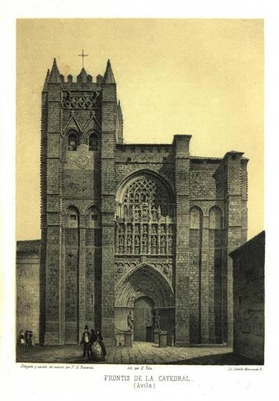 Frontis de la Catedral [Material gráfico]: (Ávila)
