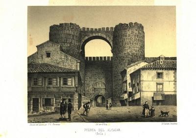 Puerta del Alcázar (Ávila) [Material gráfico]