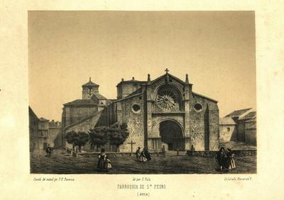 Parroquia de Sn. Pedro (Ávila) [Material gráfico]