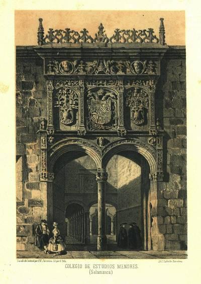 Colegio de Estudios Menores (Salamanca) [Material gráfico]