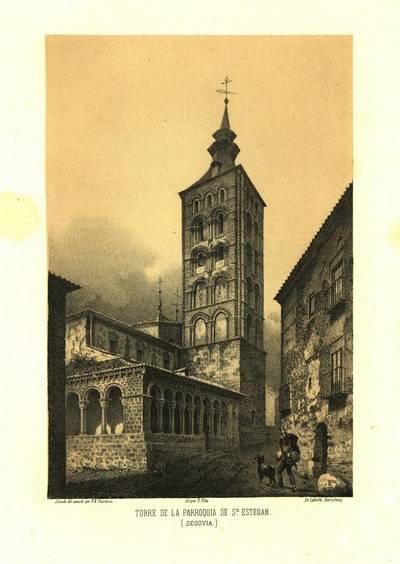 Torre de la parroquia de Sn. Esteban (Segovia) [Material gráfico]