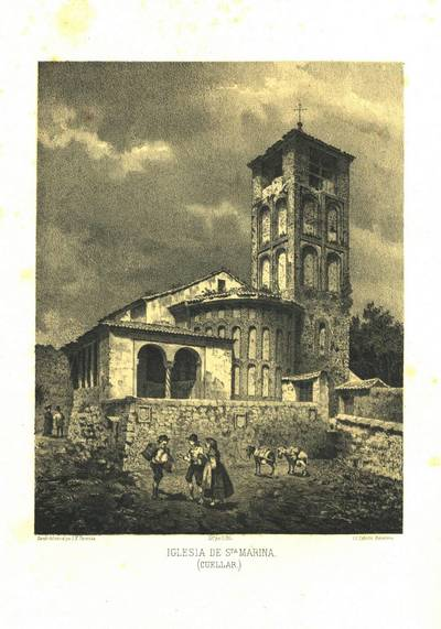 Iglesia de Sta. Marina (Cuéllar) [Material gráfico]