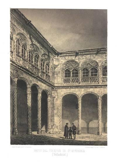 Patio del Colegio de S. Gregorio (Valladolid) [Material gráfico]