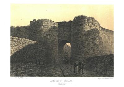 Puerta de Dª Urraca (Zamora) [Material gráfico]