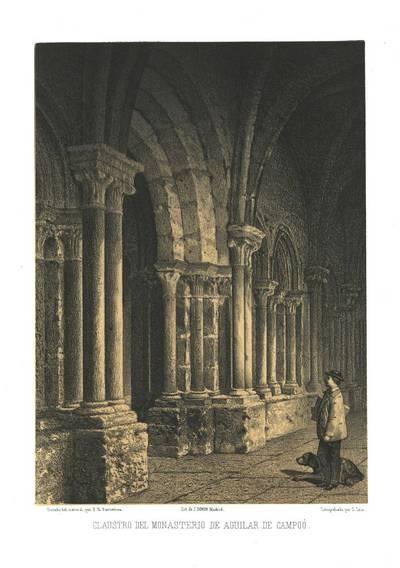 Claustro del Monasterio de Aguilar de Campoo [Material gráfico]