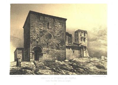 Convento de Sta. María del Temple, recién demolido (Ceynos de Campos) [Material gráfico]