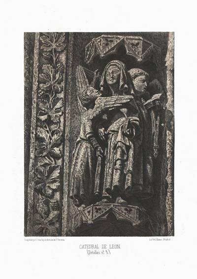 Catedral de León [Material gráfico]: (detalles nº 5)