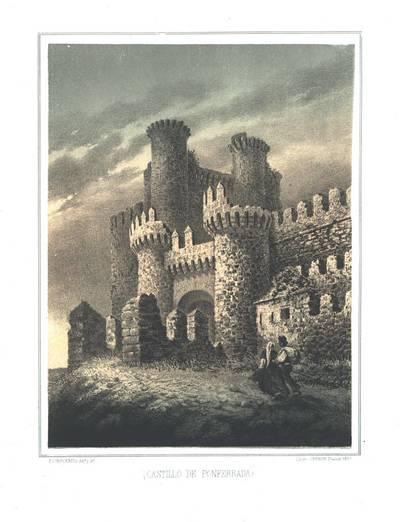 Castillo de Ponferrada [Material gráfico]