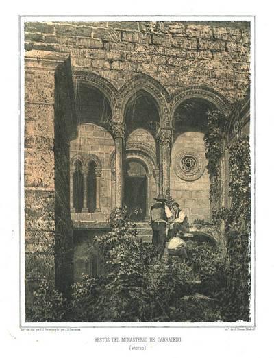 Restos del Monasterio de Carracedo (Vierzo)[sic.] [Material gráfico]