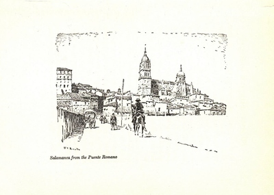 Salamanca from the Puente Romano [Material gráfico]