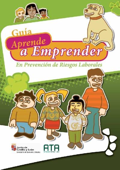 Guía aprende a emprender en prevención de riesgos laborales.