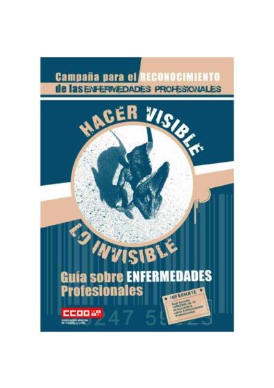 Hacer visible lo invisible : guía sobre enfermedades profesionales