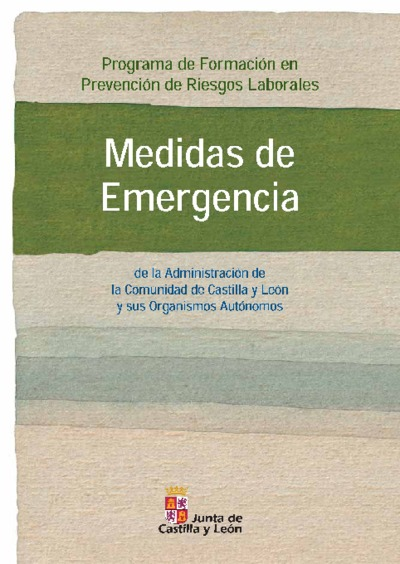 Medidas de emergencia