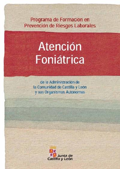Atención foniátrica