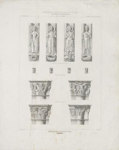 Detalles de la Catedral Vieja (Salamanca) [Material gráfico]