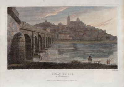 Roman bridge at Salamanca [Material gráfico]