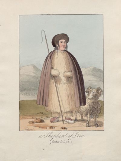A shepherd of Leon [Material gráfico] ]= (pastor de Leon)