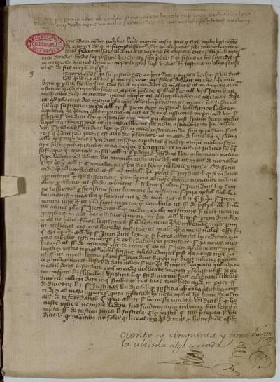 Casus legum supra Decretales [Manuscrito]