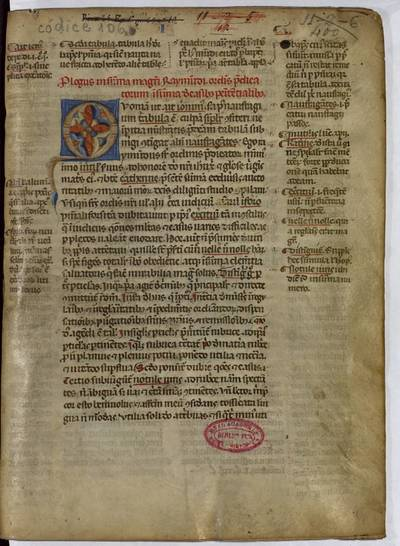 Summa de casibus penitentialibus [Manuscrito] ; Summa fratris Raymundi de matrimonio