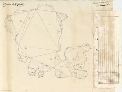 Planes que han servido para averiguar la superficie de las Provincias de España, y de sus Islas adyacentes Partido de Reinosa [Material cartográfico]