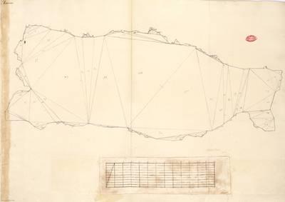 Planes que han servido para averiguar la superficie de las Provincias de España, y de sus Islas adyacentes Principado de Asturias [Material cartográfico]