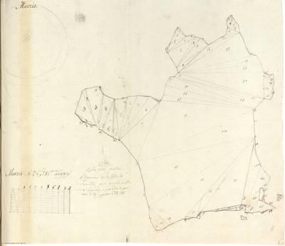 Planes que han servido para averiguar la superficie de las Provincias de España, y de sus Islas adyacentes Reino de Murcia [Material cartográfico]