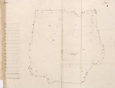 Planes que han servido para averiguar la superficie de las Provincias de España, y de sus Islas adyacentes Reino de Jaén [Material cartográfico]