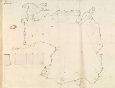 Planes que han servido para averiguar la superficie de las Provincias de España, y de sus Islas adyacentes Provincia de Zamora [Material cartográfico]