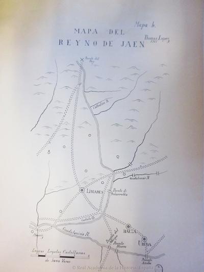 Mapa del reyno de Jaen [Material cartográfico]
