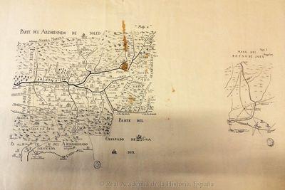 [Mapa geográfico de una parte de la provincia de Jaén]. Map. a [Material cartográfico]
