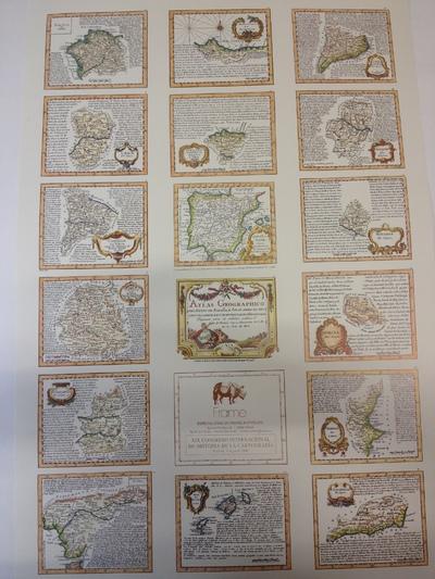 Atlas Geographico del Reyno de España, è Islas Adyacentes con una breve descripcion de sus Provincias. Dispuesto, para la utilidad publica [Material cartográfico]