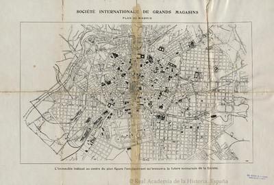 Plan de Madrid [Material cartográfico]